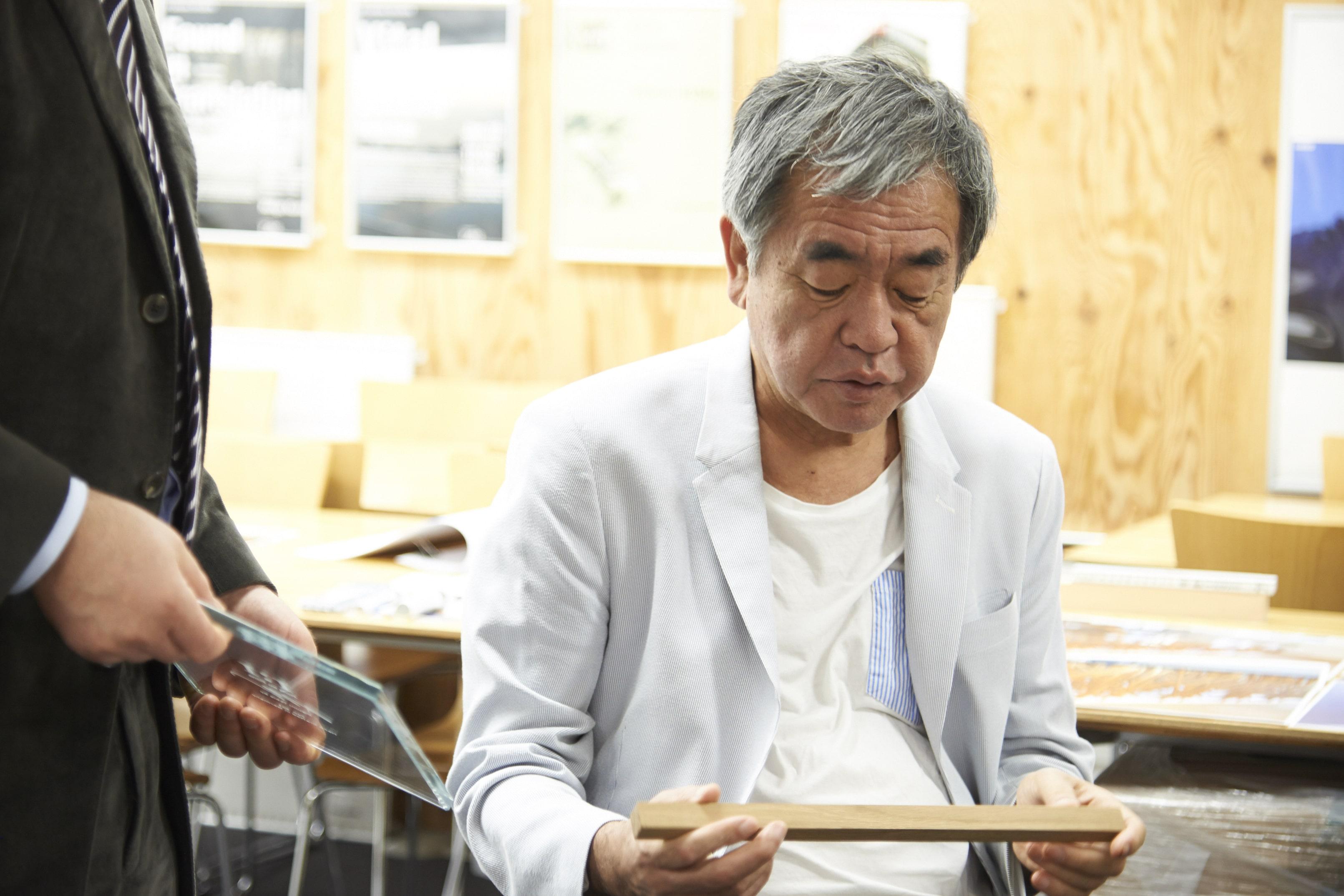 Kengo Kuma meeting2